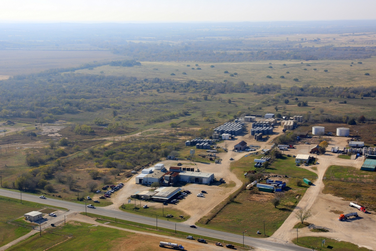 Aerial view of headquarters 1